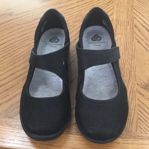 Women's cloudsteppers black mary jane flat - 8M